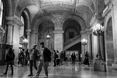 Visitors - New York Public Library (minus6 (tuan)) Tags: mts minus6