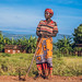 Rose, a farmer from Burundi
