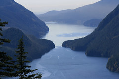 Alouette Lake (~ Blu ~) Tags: blu guessed thenarrows allouettelake gwv hikeview pointdave