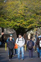 First_Day_Campus_Students_20160125_0115 (Sac State) Tags: california usa public us university state calif sacramento affairs vernone
