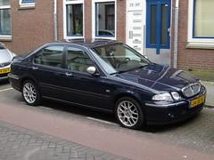 2002 Rover 45 V6 (harry_nl) Tags: netherlands rotterdam nederland rover 45 v6 2016 sidecode6 04jbxf