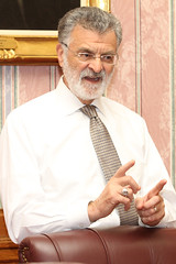 Mayor Frank Jackson addresses the Stop the Hate® finalists