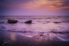 368 - (Gladson777) Tags: sky india beach clouds evening rocks long exposure waves sony salt 1855 splash alpha mumbai wispy slt pans a58 55200 vasai ponda bhuigaon naigaon sussnet