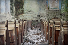 Rainbow chapel (andre govia.) Tags: wood urban cold abandoned church beautiful demo god decay religion chapel down andre creepy urbanexploration ghosts derelict decayed decaying urbex decayedbuildings urbanexplorers urbexdecay andregovia