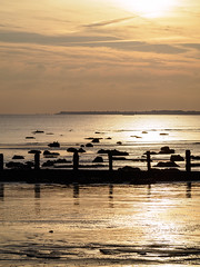 Bognor NovemberPB165913_06 (tony.rummery) Tags: sunset england seascape beach sussex unitedkingdom olympus gb southcoast groyne bognor englishchannel bognorregis breakwater mft microfourthirds epm1