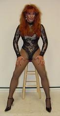 Sexy Red Head (xgirltv1000) Tags: transformation tgirl transgender transvestite trans dragqueen transexual transgendered crossdresser crossdress mtf transformista transwomen
