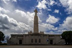 """""""Cerro de los ngeles"""" (Enfo-Carlos) Tags: arquitectura edificio iglesia cielo estatua nwn getafe"""