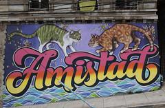 AMISTAD (charquipunk) Tags: graffiti valparaiso gatos graff elliot amistad valpo charquipunk charq