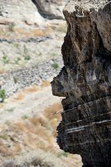 Rock Face (Le monde d'aujourd'hui) Tags: face rock rockface santorini greece stonefaced