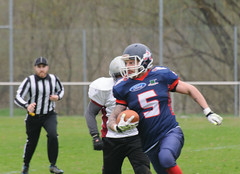20160403_Avalanches Annecy Vs Falcons Bron (17 sur 51) (calace74) Tags: france annecy sport foot division falcons bron amricain avalanches rgional