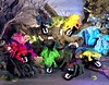 Shivering Creepies 90s rolling monster mutant rubber bug toy group shot (splittyhead) Tags: rubber mutant monster jiggler toy creepy weirdtoys 90stoys