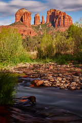 Red Rock Crossing 3 (another_scotsman) Tags: longexposure arizona river landscape sedona cathedralrock oakcreek redrockcrossing crescentranch
