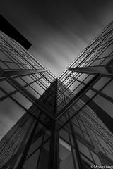 X (Moises Levy L) Tags: longexposure blackandwhite bw paris building blancoynegro architecture la blackwhite arquitectura defense diagonals longexposure2minutes moiseslevy francia2016 sonya7r2