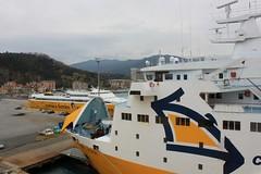 Vado Ligure Port (demeeschter) Tags: sea italy harbour corsica ferries vado ligure