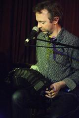 Rob Harbron & Emma Reid (2016) 03 - Rob Harbron (KM's Live Music shots) Tags: greatbritain folkmusic concertina englishfolk greennote folkandroots robharbron englishconcertina folkonmonday wheatstoneconcertina robharbronemmareid