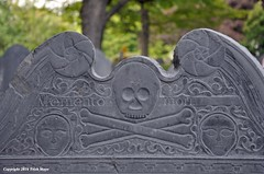 Memento Mori (Trish Mayo) Tags: cemetery tombstone mementomori concord skullandcrossbones thebestofday gnneniyisi southburyingplace
