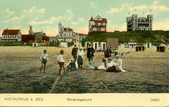 1075 - PC Noordwijk ZH (Steenvoorde Leen - 2.1 ml views) Tags: history strand boulevard postcards noordwijk kust ansichtkaart noordwijkaanzee badplaats oldcards oudnoordwijk