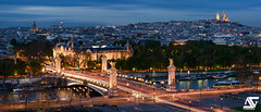 Pont Alexandre III (A.G. Photographe) Tags: paris france seine french nikon europe montmartre sacrcoeur ag bluehour capitale nikkor franais parisian anto pontalexandreiii xiii petitpalais parisien heurebleue d810 glisesaintaugustin antoxiii 70200vrii agphotographe