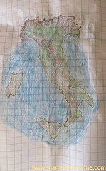 I fiumi in Italia (Mammecomeme) Tags: italia bambini alpi scuola geografia appennini fiumi