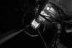 From The Bottom (rohanliston) Tags: stairs spiral hawaii oahu staircase diamondhead spiralstaircase