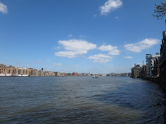 Thames view from Rotherhithe (downriver) (John Steedman) Tags: uk greatbritain england london thames unitedkingdom themse grossbritannien     grandebretagne    thamise  riverrotherhithe