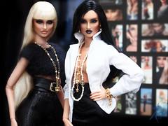 Trinovantes sisters (kingdomdoll) Tags: white beauty glamour doll kingdom blond bjd viola fashiondoll trinovantes nimue resinfashiondoll fbjd kingdomdoll