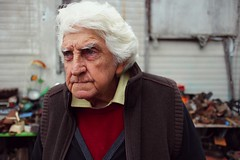 Time Goes By (josephburden58) Tags: people portraits elderly socialdocumentary greyhair canoneosm canon22mmef