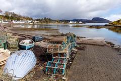 Lobster Pots at Plockton (mjw...) Tags: scotland highlands harbour westcoast plockton lobsterpots creel scottishhighlands sealoch lochcarron canonef2470mmf4lisusm canoneos5dsr