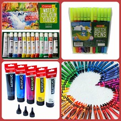 4 Must Have Art Supplies for the Artist in You (Storyostory) Tags: art shop children store craft books gift shops pens items stores stationery kolkata diaries