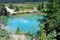 Les Inks Pots (joelledewael) Tags: lake canada lac banffnationalpark inkspots