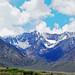 Sierra Nevada Peaks in Spring, CA 2015