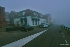cafe de kaai / mist / fog (misha vijfhuizen) Tags: road street morning house mist holland netherlands dutch fog heineken de cafe foggy nederland bier ochtend weg zuid mistig goereeoverflakkee kaai vvv southholland