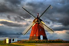 Bjerre windmill (Neal J.Wilson) Tags: denmark windmills moods stormclouds jutland jylland