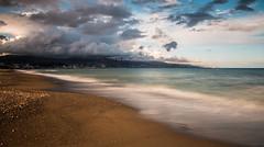 Malaga ESPAGNE (mille_emmanuel) Tags: cloud mer water canon landscape eos nice eau ciel nuage orage