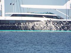Reflections (Paranoid from suffolk) Tags: sea sun reflection water boat spain mediterranean yacht mallorca luxury majorca palmanova 2016 balearics