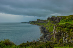 Rigg cliffs (Il_naso) Tags: sea cliff cloud skye nature landscape island scotland nuvole mare wind cloudy north natura cliffs isle paesaggi vento higlands mistery isola rigg scogliere scozia mistica scogliara