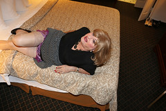 new116644-IMG_5234t (Misscherieamor) Tags: tv transformation feminine cd femme motel tgirl transgender mature sissy tranny transvestite crossdress ts gurl tg travestis prettydress travesti travestido travestie m2f onbed stockingtops xdresser tgurl traviesa travestito slipshowing travestit
