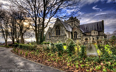 Holy Trinity with St. Edmund (AreKev) Tags: uk england church bristol nikon sigma 1020mm hdr holytrinity horfield stedmund photomatixpro 1020mmf456exdchsm d7100 churchoftheholytrinitywithstedmund wellingtonhill nikond7100