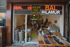 Spice market in Antalya