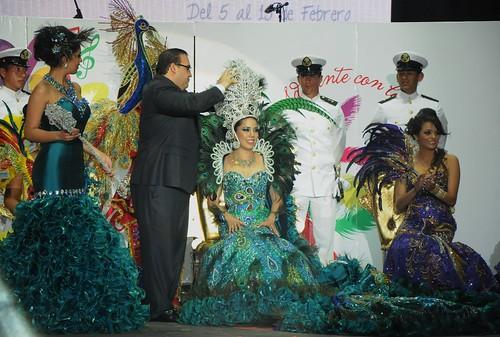 El gobernador, Javier Duarte de Ochoa coronó a la Reina del Carnaval, Veracruz 2013