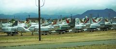 """Boneyard"" DavisMonthan AFB Tucson Az (John Wiley) Tags: arizona tucson aircraft boneyard"