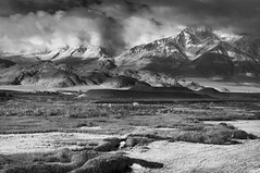 Owens River (gpa.1001) Tags: blackandwhite bw clouds landscape bishop owensvalley owensriver