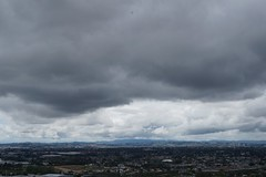 Mangere Maunga and Bridge (rozpalethorpe) Tags: auckland southauckland