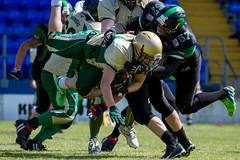 Halton Spartans (Tim Furfie) Tags: sport canon action stadium tackle americanfootball runcorn widnes halton canon7d haltonspartans