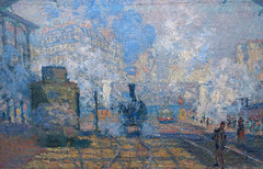 Monet, Gare Saint-Lazare, 1877