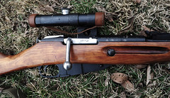 Mosin Nagant PU Sniper - Authentic 1943 (tigertailzbezerk@att.net) Tags: world 2 white war gates background rifle front soviet sniper ww2 russian eastern roza enemy stalin 1943 pu stalingrad kursk mg42 mosin nagant shanina ppsh  mp40 m9130