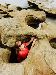 Coquina rock formations, Washington Oaks State Park, Florida (Andy Montgomery) Tags: beach florida joy 2015 washingtonoaksstatepark