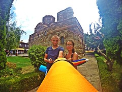 Week of unusual selfie-stick 4 (Alexandr Tikki) Tags: world life travel blue original light sky selfportrait color wow idea spring crazy amazing perfect colorful view awesome great creative bulgaria hero unusual concept moment selfie tikki nesebr gopro sleepingpad selfiestick goprohero4 alexandrtikki leveltravel