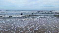 Mickler's Beach (Joe Shlabotnik) Tags: cameraphone ocean beach florida violet pontevedra boogieboard 2015 micklersbeach galaxys5 december2015