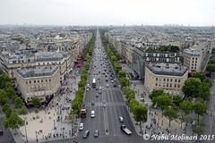 Paysage : Avenue des Champs Elysées (Nabil Molinari Photography) Tags: paris champs elysées des avenue paysage